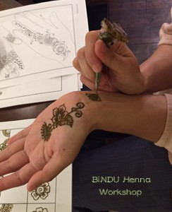 BiNDU Henna Workshop
